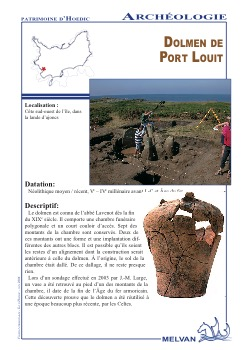 Dolmen de Port Louit