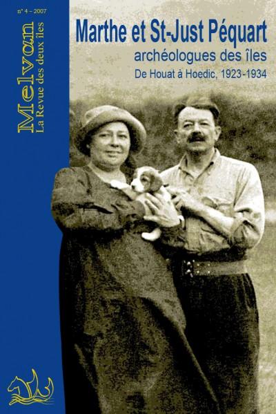 Marthe et Saint-Just Péquart, archéologues des îles Houat 1923 – Hoedic 1934